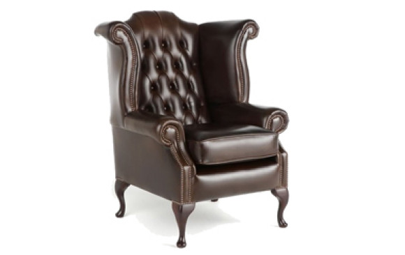 Queen Ann Wingback