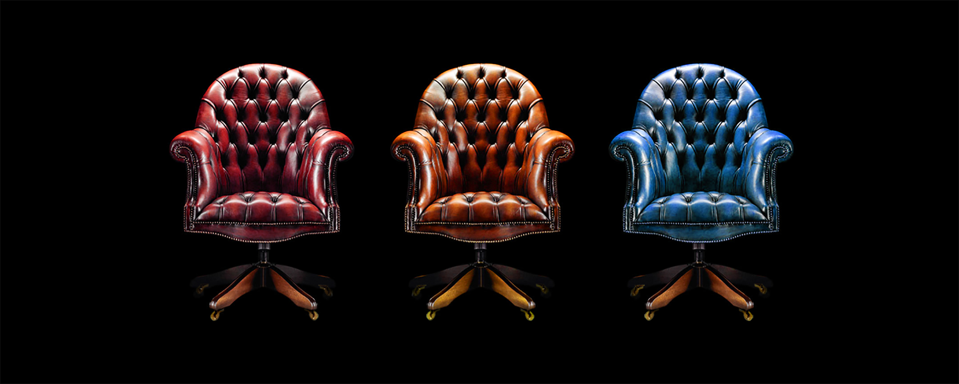 Executive Womens office Chair in leather Born Colours