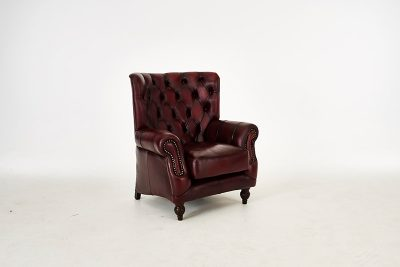 Highback Chesterfield chair