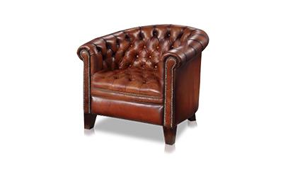 Born Furniture Churchill Chesterfield Tub Chair