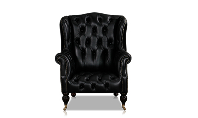 Born Furniture Onyx Wingback