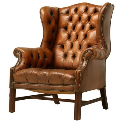 Born Furniture Wingbacks History of the wingback chair