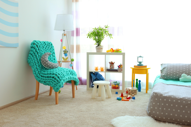 born furniture chair wingback fabric texture home decor
