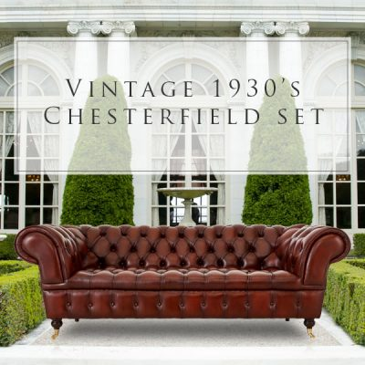 Born Furniture Vintage Chesterfield special
