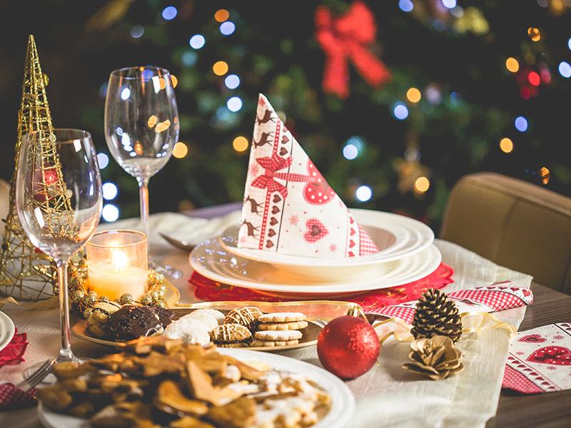 born furniture christmas table setting christmas decor