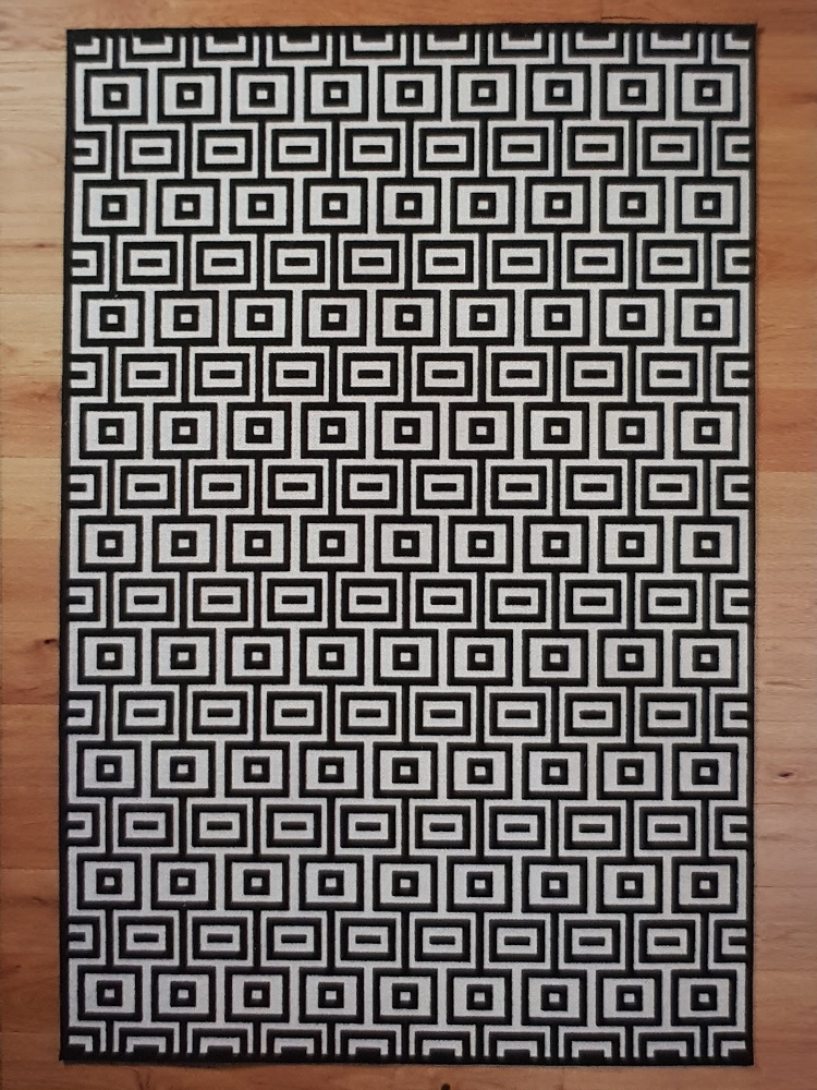 Network Dice carpet
