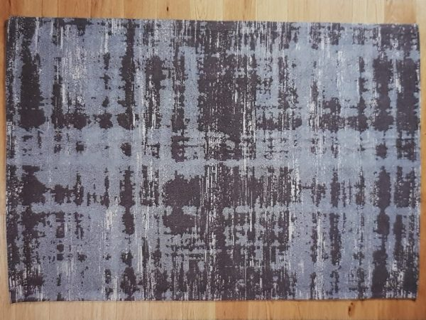 Painterly Cool grey carpet