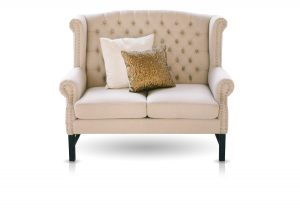 Born Furniture, Chesterfield, Small Chesterfield, Small Sofa, Tufted sofa, tufted couch, Leather, leather sofa, Sofa, couch,