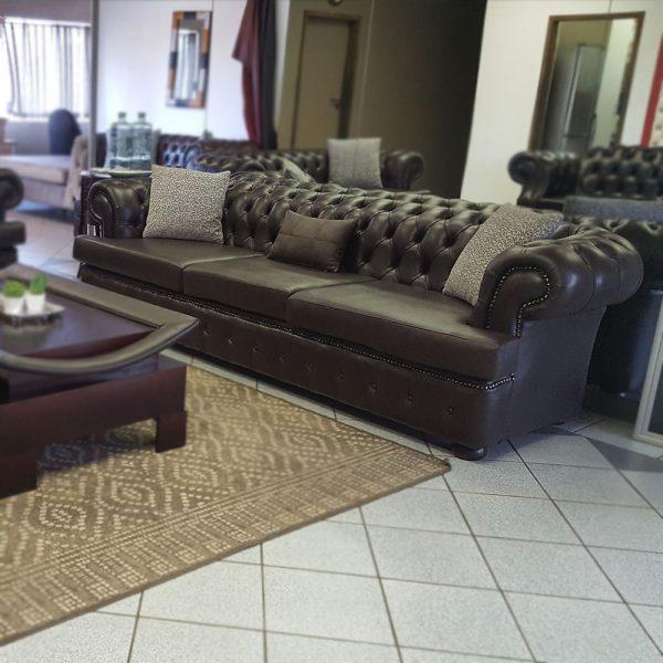 Born Furniture Moloko Chesterfield 3 seater