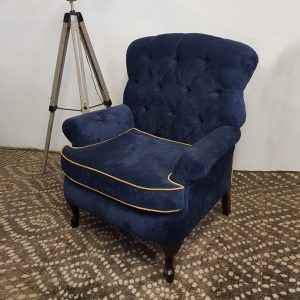 Born Furniture Prince Andrew Fabric wingback